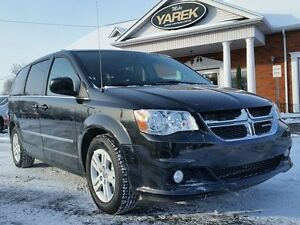2016 Dodge Grand Caravan Crew Plus, Leather Heated Seats, Blueto