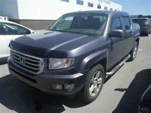 2014 Honda Ridgeline Touring-4WD,Leather,Sunroof,Navi,Backupcam