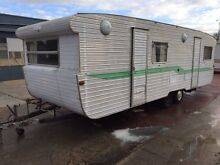 1976 Capricorn 24ft Project Caravan 70s with Bunks and New Wheels Springvale South Greater Dandenong Preview