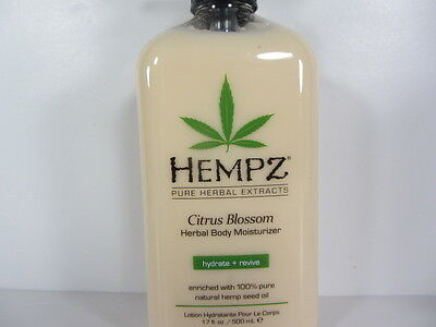 HEMPZ HERBAL CITRUS BLOSSOM MOISTURIZER after Tanning Lotion
