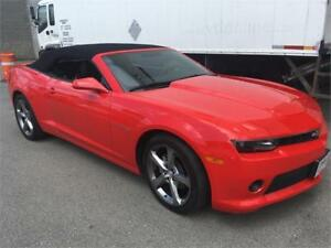 2014 Chevrolet Camaro RS LT Convertible red loaded