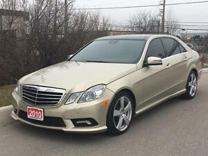 2010 Mercedes-Benz E350 4Matic AMG PKG LANE ASSIST AND MUCH MORE