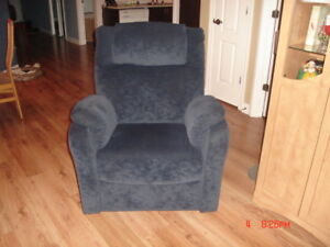 Fauteuil inclinable bercant Elran