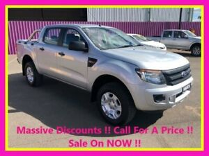 2013 Ford Ranger PX XL 2.2 (4x2) Silver 6 Speed Manual Utility Dubbo Dubbo Area Preview