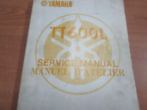 1984 YAMAHA TT600L SERVICE MANUAL