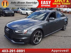 2014 AUDI A4 NAVIGATION 90 DAYS NO PAYMENT