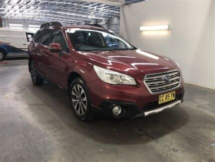 2015 Subaru Outback MY15 2.5I Burgundy Continuous Variable Wagon Beresfield Newcastle Area Preview