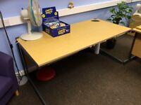 Office Desks Metal framed 160cm X 80cm
