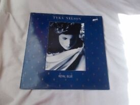 Vinyl LP Royal Blue Tyka Nelson Chrysalis CTLP 7 Stereo