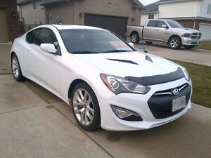 2015 Hyundai Genesis Coupe White Coupe (2 door) Premium
