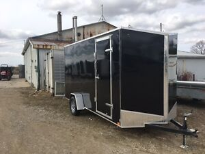 6x14 Enclosed cargo trailer