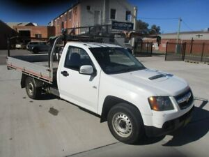 2008 Holden Colorado RC DX 4x2 White 5 Speed Manual Cab Chassis Hamilton North Newcastle Area Preview