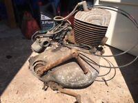 Villiers 350cc twin engine