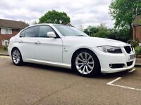 BMW 3 SERIES 3.0 330D SE AUTOMATIC ..STUNNING WHITE ..HPI CLEAR.