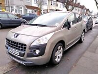 2010 Peugeot 3008 1.6 AUTOMATIC HDi DIESEL FAP Exclusive Top of the range