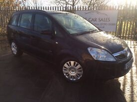 2009 Vauxhall Zafira Life 1.8 16V 5dr 7 Seats. Mot to Aug 2017. 1 Owner From New. Only 50k Miles