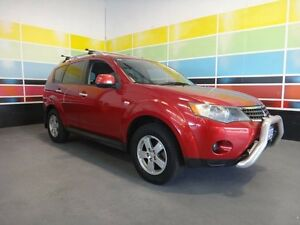 2009 Mitsubishi Outlander ZG MY09 Activ (5 Seat) Burgundy 6 Speed CVT Auto Sequential Wagon Wangara Wanneroo Area Preview