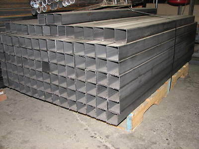 2 X 0.120 X 59-60 Length Steel Square Tubing