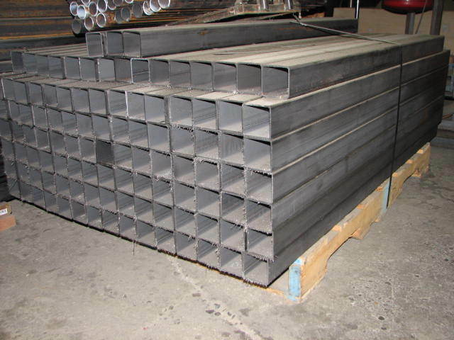 "2 ½"" x 0.120"" x 59""-60"" Length  Steel Square Tubing"