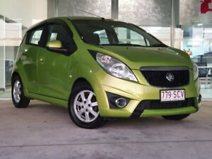 2012 Holden Barina Spark MJ MY12 CD Green 5 Speed Manual Hatchback Brendale Pine Rivers Area Preview