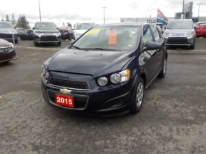 2015 Chevrolet Sonic LS AUT0 ***ONLY 39500KM'S WOW!!!!