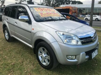 2010 Great Wall X240 CC6460KY Silver 5 Speed Manual Wagon Ferntree Gully Knox Area Preview