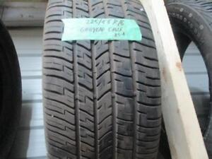 225/55R16 SINGLE GOODYEAR A/S TIRE USED