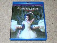 THE VAMPIRE DIARIES Bluray, 4 Disc Boxset, Complete Second Season, blu ray/blueray/blue ray