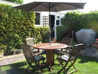 Garden Table and Chairs PLUS EXTRAS EXCELLENT CONDITION
