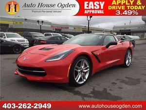 2015 Chevrolet Corvette Z51 2LT STINGRAY 90 DAYS NO PAYMENTS