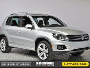 2014 Volkswagen Tiguan Highline AC CRUISE BLUETOOTH SIEGES CHAUF