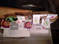 immaculate wii fit , original boxes, instruction manuals.