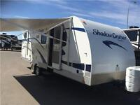 ALMOST NEW 2012 SHADOW CRUISER 260 BH JUST LANDED!!!!!