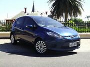 2010 Ford Fiesta WS LX Blue 4 Speed Automatic Hatchback Medindie Gardens Prospect Area Preview