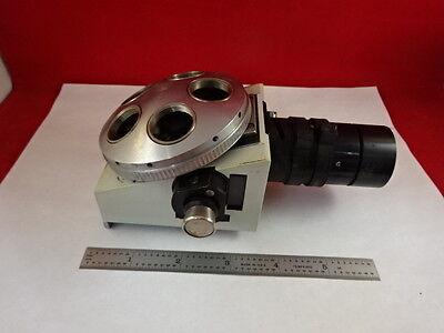 Microscope Part Vickers England Nosepiece Photoplan Illum Optics As Is Y5-d-10