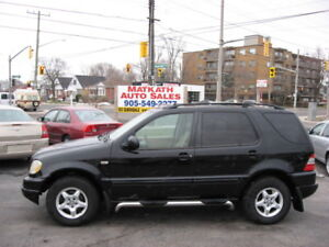 **2001 Mercedez Benz ML320**  Certified & E-tested