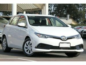 2017 Toyota Corolla ZRE182R Ascent S-CVT Glacier White 7 Speed Constant Variable Hatchback Christies Beach Morphett Vale Area Preview