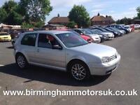 2003 03 Volkswagen Golf 2.3 V5 170 AUTOMATIC 3DR Hatchback SILVER + HUGE SPEC