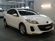 2013 Mazda 3 BL MY13 Neo White 6 Speed Manual Hatchback Beresfield Newcastle Area Preview