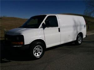2012 Chevrolet Express 1500 CARGO VAN only 42km