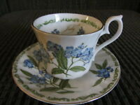 Eleven Bone china Cups & Saucers -$4.00 each