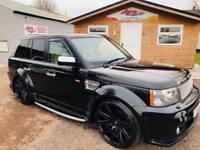 2006 LAND ROVER RANGE ROVER SPORT 4.4 V8 HSE 5D AUTO 295 BHP