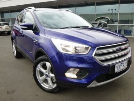 2017 Ford Escape ZG Trend PwrShift AWD Deep Impact Blue 6 Speed Sports Automatic Dual Clutch Wagon