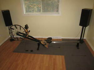 Concept 2 rower, Model A, with PM3 monitor display upgrade