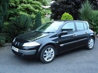 2006 RENAULT MEGANE 1.5DCI , FULLY SERVICED AND LONG MOT