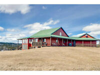 Fantastic, private, peaceful home on 80 acres!!