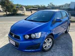 2012 Holden Barina TM Blue 5 Speed Manual Hatchback Burleigh Heads Gold Coast South Preview