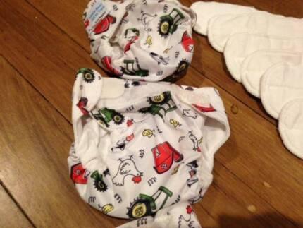 Modern Cloth Newborn Nappies