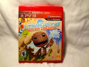 PS3 game, Little Big Planet, console , Sony Playstation