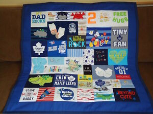 Baby Clothes Memory Quilts - Made with your babies clothes!